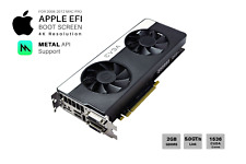  NVIDIA GTX 680 SC2 2GB Video Card for Apple Mac Pro: CUDA METAL Support and 4K