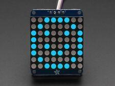 """Adafruit Small 1.2"""" 8x8 LED Matrix w/I2C Backpack - Blue [ADA1052]"""