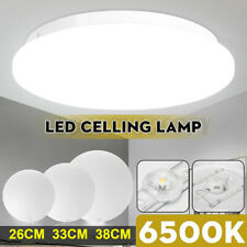 24W 14inch LED Ceiling Light Ultra Thin Flush Mount Kitchen Round Home Fixture