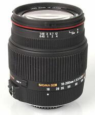 Sigma 18-200mm f/3.5-6.3 II DC OS HSM Lens for Nikon 882306 dslr d5100 D5500