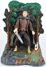 Lord of The Rings FRODO & RINGWRAITH REVEAL BASE Action Figure Toy Biz 2001