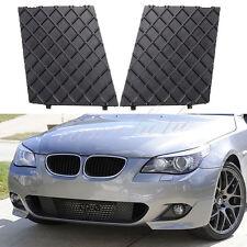 Left&Right Front Bumper Cover Lower Mesh Grill Trim For BMW E60 E61 M Sport