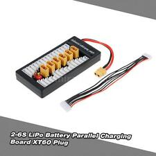 2-6S LiPo Battery Parallel Charging Adapter Board XT60 Plug Balance Plate