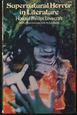 RARE H.P. Lovecraft Supernatural Horror in Literature Small Press softbound