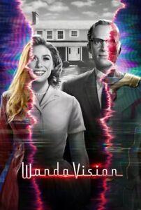 WandaVision poster : 11 x 17 inches : Scarlet Witch Olsen Bettany MARVEL DISNEY