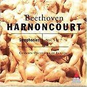 sinfonien 5+7 harnoncourt/coe cd class. symphonical, beethoven,ludwig van, Very