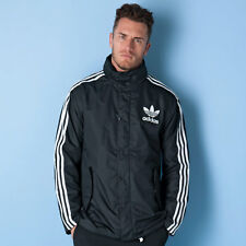 Men's adidas Originals Fashion Windbreaker Jacket in Black From Get The Label M AY7928BLK246