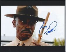 Lou Gossett Jr An Officer and A Gentleman autographed 8x10 photo with COA by CHA