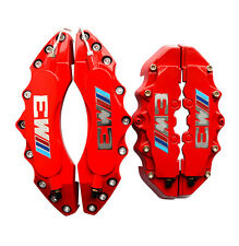 """Engineering Plastic Red M Performance Brake Caliper Covers 11"""" Front 9"""" Rear BMW"""