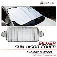2Pcs Sun Shade Window Screen Cover Sunshade Protector Car Auto Universal