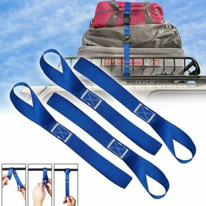 10 Pcs Soft Loop Tie Down Straps 4500lbs Heavy Duty Safe Luggage Ratchet Car New