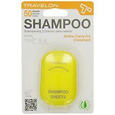 Travelon Shampoo Travel Hygiene Sheets - 50ct