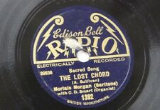78rpm MORLAIS MORGAN the lost chord / the holy city