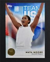 2016 Topps U.S. Olympic Team Gold #74 Maya Moore - NM-MT