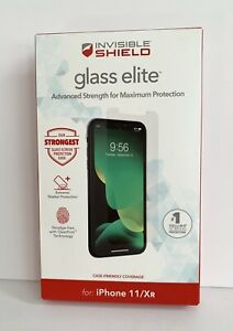 ZAGG Invisible Shield Glass Elite For Iphone 11/Xr Screen Protector