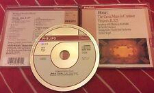 Mozart: The Great Mass in C minor; Vespers, K. 321 (Philips CD) Neville Marriner