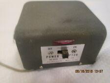 Vintage R/C universal Power Adapter AC 117V DC 12V Midland model # 18 - 140