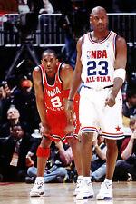 A Michael Jordan Playing Basketball 8x10 Picture Celebrity Print