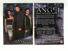CHEAP PROMO CARD: Angel Season 1 Inkworks 2000 #SD2000 ONE SHIP FEE PER ORDER