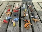 Vintage Mini Plastic Animals Made In Hong Kong