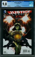 JUSTICE LEAGUE 49 CGC 9.8 Batman Vs Superman Cover Wonder Woman Johns 2016