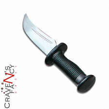 Rubber Knife Dagger Toy Weapon Halloween Fancy Dress Costume Outfit Accessory