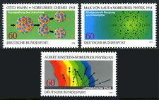 Germany 1299-1301,MNH.Nobel Price Winners.A.Einstein,O.Hahn,Max von Laue, 1979
