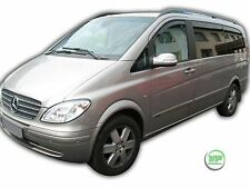 MERCEDES VITO W639 2003-2014 SET OF FRONT WIND DEFLECTORS  2pc HEKO TINTED