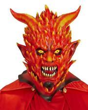 Maschera Diavolo In Fiamme Halloween o Carnevale PS 26183