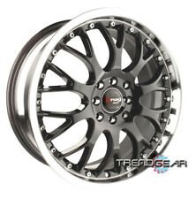 "17""DRAG DR19 GUN METAL WHEELS RIMS TALON ECLIPSE 3000GT"
