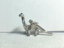 Brontosaurus sterling charm from Rqc