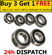 BEARINGS 6000 - 6015 2RS - RUBBER SEALED - Multi variations - ALL SIZES