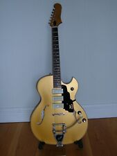 GUILD STARFIRE 1 JET 90 SATIN GOLD WITH CORRECT GUILD CASE