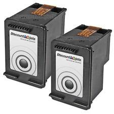 2pk CC640WN 60 BLACK Ink Cartridge for HP HP60 Deskjet F4580 f2400 d1660 f2480