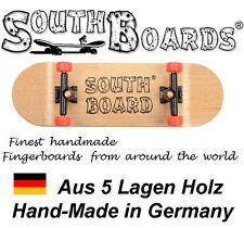 Komplett Holz Fingerskateboard N/SWZ/RT SOUTHBOARDS® Handmade Wood Fingerboard