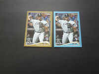 2014 Marcus Semien Topps Series 2 Gold /2014 Blue Wal-Mart Rookie Lot RC 429