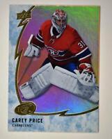 2019-20 ICE Orange Parallel #2 Carey Price - Montreal Canadiens