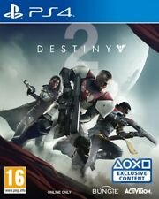 Destiny 2 PS4 * NEW SEALED PAL *
