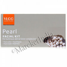 Vlcc Pearl Single Facial Kit For Luminous Skin & Fairer Glow Complexion Radiance
