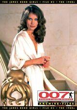 007 MAGAZINE ARCHIVE FILES - The James Bond Girls - File #3 The 1980s Nov 2010