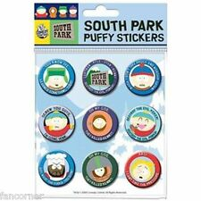 South Park Blister 9 autocollants officiels South park official puffy stickers