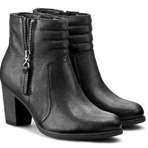 "Clarks Palma Trina Leather Ankle Boots/ UK Size 4.5.""💐⚜️💐"