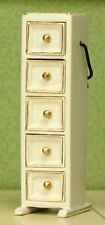 """Sewing Chest / Drawers Sewing Room  DOLLHOUSE FURNITURE 1/12 or 1"""" Scale BESPAQ"""