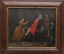 WILLIAM HOGARTH (c) OLD MASTER BRITISH BLACK SERVANT BOY 18TH CENTURY ART  OIL