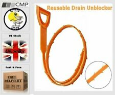 REUSABLE DRAIN UNBLOCKER FLEXIBLE CLEANER  ECO FRIENDLY  UK SELLER