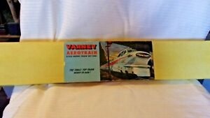 HO Scale Varney, Rare Aerotrain Locomotive Set from 1957, Engine, 3 Cars