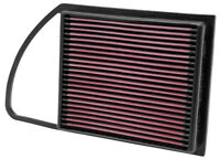 33-2975 K&N Replacement Air Filter PEUGEOT 508 1.6 PETROL & DIESEL 2010-2011