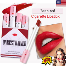 Creative Cig - Lipstick Set 4 Colors Matte Waterproof Matt Lip Nude Red Box