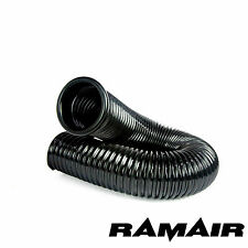 RAMAIR Cold Air Feed PVC Ducting Intake Pipe 1 Cap Induction 100mm x 0.5m