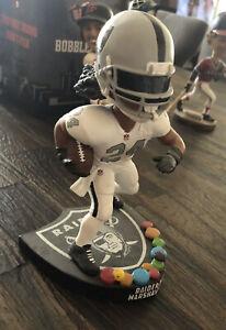 Oakland Raiders Marshawn Lynch #24 Candy Bobblehead FOCO NO BOX RARE NFL